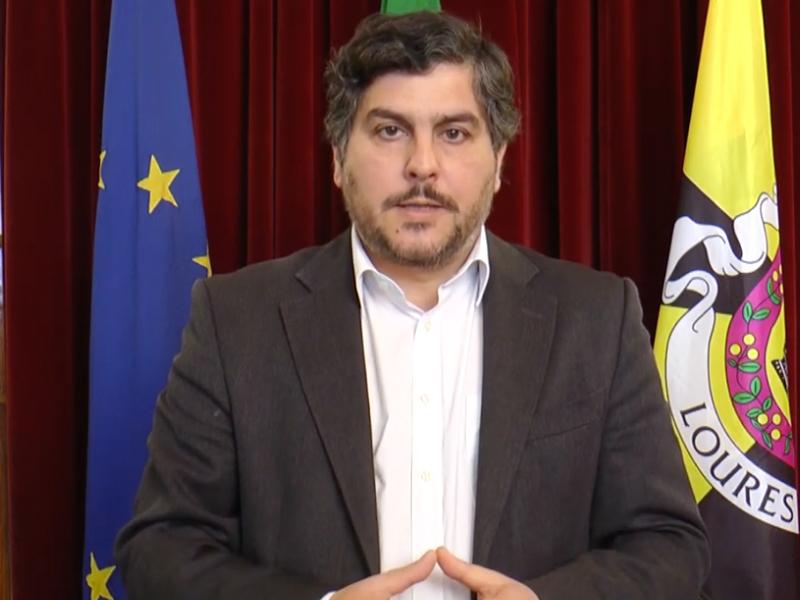 Mensagem do presidente da Câmara Municipal