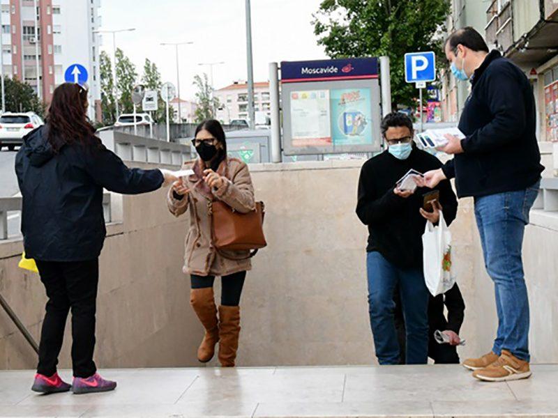 Loures reforça distribuição de máscaras comunitárias à população